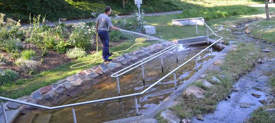 13-09_Wassertreten im Aukammtal